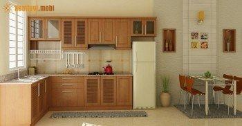 Phong thủy cho nhà bếp chung cư như thế nào cho hợp