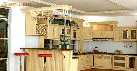 Phong thủy cho nhà bếp chung cư