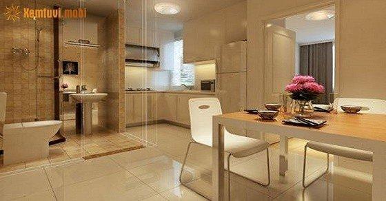 Phong thủy nhà bếp và nhà vệ sinh tốt và tiện lợi