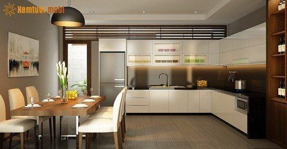 Thiết kế phong thủy phòng bếp và phòng vệ sinh tốt và tiện lợi