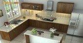 Các cách xác định chiều cao của bếp theo phong thủy