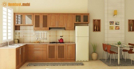 Bố trí phòng bếp cho người mệnh Thổ