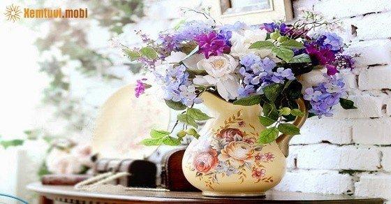 Cách bài trí những loại hoa phong thủy trong nhà mang lại tài lộc