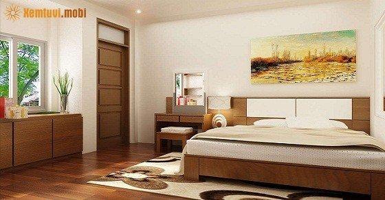 Sắp xếp phòng ngủ theo phong thủy mang lại tốt lành