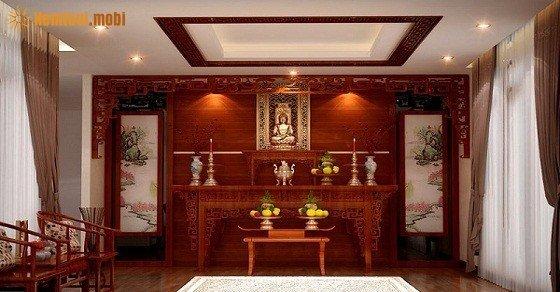 Kích thước bàn thờ trong gia đình