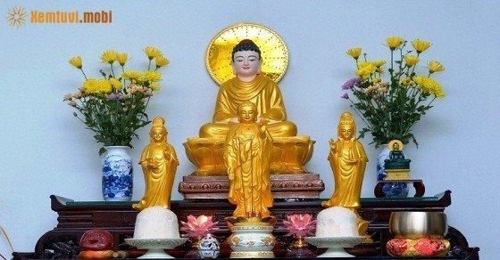 Thiết kế phòng thờ Phật trong gia đình