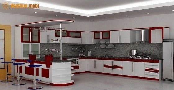 Cách đặt phong thủy phòng bếp