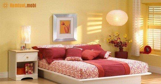 Phong thủy phòng ngủ cho vợ chồng hiếm muộn