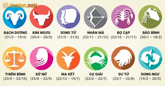 Bạn sinh tháng 5 thuộc cung hoàng đạo nào?