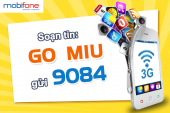 Đăng ký gói Miu Mobifone
