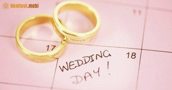 Xem ngày cưới tháng 11 năm 2016