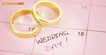 Xem ngày cưới hỏi tháng 11 năm 2016