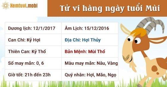Tử vi ngày mới 12 con giáp thứ 5 ngày 12/1/2017