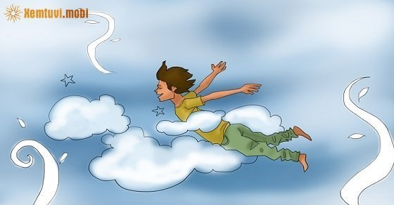 Mơ thấy mình bay trên cao