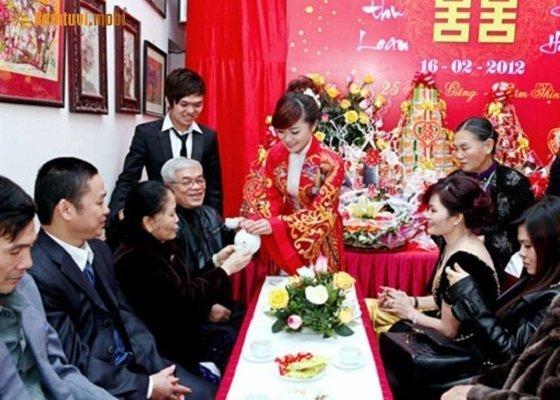 Ngày cưới hỏi của các cặp uyên ương