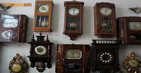 Treo đồng hồ trong nhà theo phong thủy