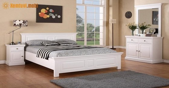 Hướng tốt nhất cho giường ngủ là hướng Nam – Bắc