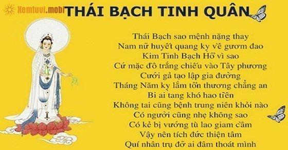 Sao Thái Bạch là gì, ýnghĩa của Sao Thái Bạch tốt hay xấu?