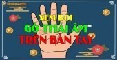 Gò Thái Âm là gì - Xem bói gò Thái Âm trên bàn tay