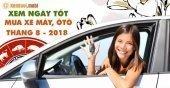 Chọn xem ngày tốt để mua xe tháng 8 năm 2018