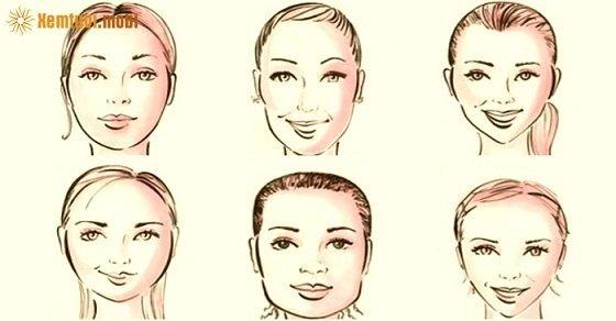 Các tướng mặt của người phụ nữ