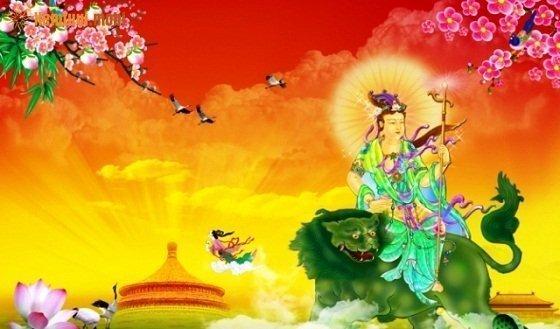 Vị thế của Phật văn thù bồ tát trong Phật giáo