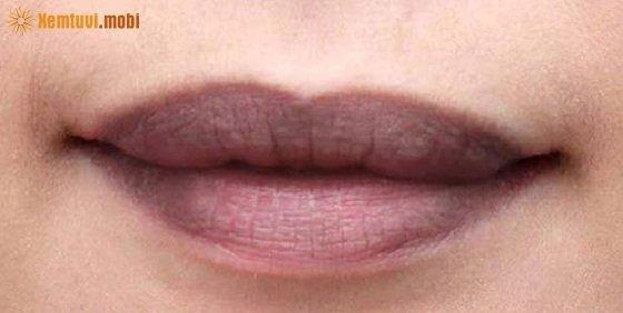 Xem tướng đàn ông, phụ nữ môi thâm