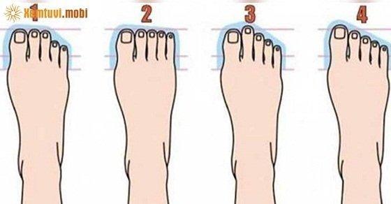 Xem tướng qua hình dạng ngón chân