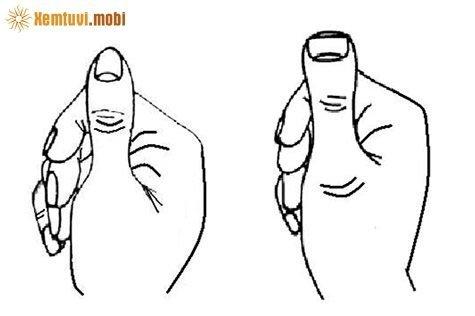 Xem bói ngón tay cái, tướng ngón tay cái cho biết độ giàu nghèo