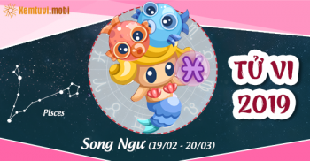 Xem bói tử vi cung hoàng đạo Song Ngư năm 2019
