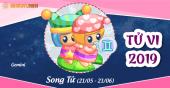 Xem bói tử vi cung hoàng đạo Song Tử năm 2019