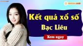 XSBL 19/3 - SXBL 19/3 - Xổ số Bạc Liêu ngày 12 tháng 3 năm 2019 thứ 3