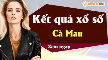 XSCM 1/4 - SXCM 1/4 - Xổ số Cà Mau ngày 1 tháng 4 năm 2019 thứ 2