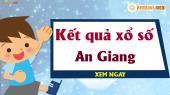 XSAG 2/5 - SXAG 2/5 - Xổ số An Giang ngày 2 tháng 5 năm 2019 thứ 5