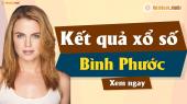 XSBP 6/4 - SXBP 6/4 - Xổ số Bình Phước ngày 6 tháng 4 năm 2019 thứ 7