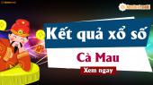 XSCM 8/4 - SXCM 8/4 - Xổ số Cà Mau ngày 8 tháng 4 năm 2019 thứ 2