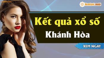 XSKH 28/4 - SXKH 28/4 - Xổ số Khánh Hòa hôm nay ngày 28 tháng 4 năm 2019 Chủ Nhật