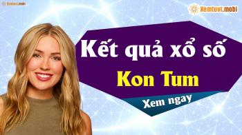 XSKT 14/4 - SXKT 14/4 - Xổ số Kon Tum hôm nay ngày 14 tháng 4 năm 2019 Chủ Nhật