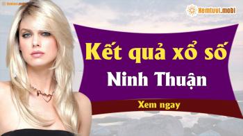 XSNT 5/4 - SXNT 5/4 - Xổ số Ninh Thuận hôm nay ngày 5 tháng 4 năm 2019 Thứ Sáu