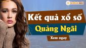 XSQNG 6/4 - SXQNG 6/4 - Xổ số Quảng Ngãi hôm nay ngày 6 tháng 4 năm 2019 Thứ Bảy