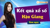 XSHG 4/5 - SXHG 4/5 - Xổ số Hậu Giang ngày 4 tháng 5 năm 2019 thứ 7