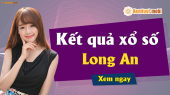 XSLA 4/5 - SXLA 4/5 - Xổ số Long An ngày 4 tháng 5 năm 2019 thứ 7