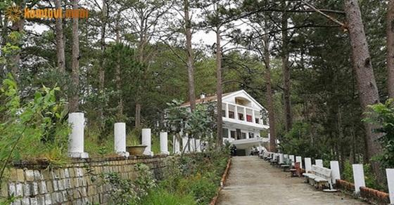 Hình ảnh ngôi nhà ma ám ở thác Prenn Đà Lạt