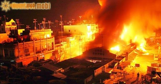 Chiêm bao thấy nhiều ngôi nhà bị cháy là điềm lành hay dữ