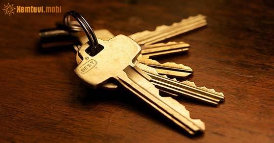 Nằm mơ thấy chìa khóa đánh con gì may mắn?