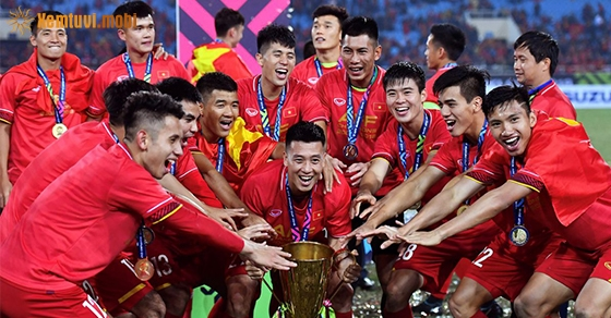 Đội tuyển bóng đá Việt Nam làm nên lịch sử