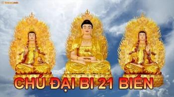 Chú Đại Bi 21 biến tiếng Việt - thầy Thích Trí Thoát tụng