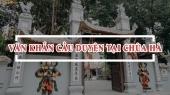 Văn khấn chùa Hà, đi chùa Hà cầu duyên như thế nào để linh nghiệm nhất?
