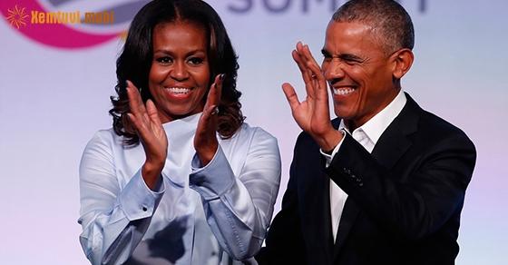 Vợ chồng cựu tổng thống Mỹ Obama cũng sở hữu tướng phu thê.
