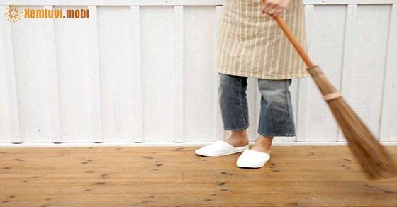 Chiêm bao thấy quét nhà là điềm tốt hay xấu?